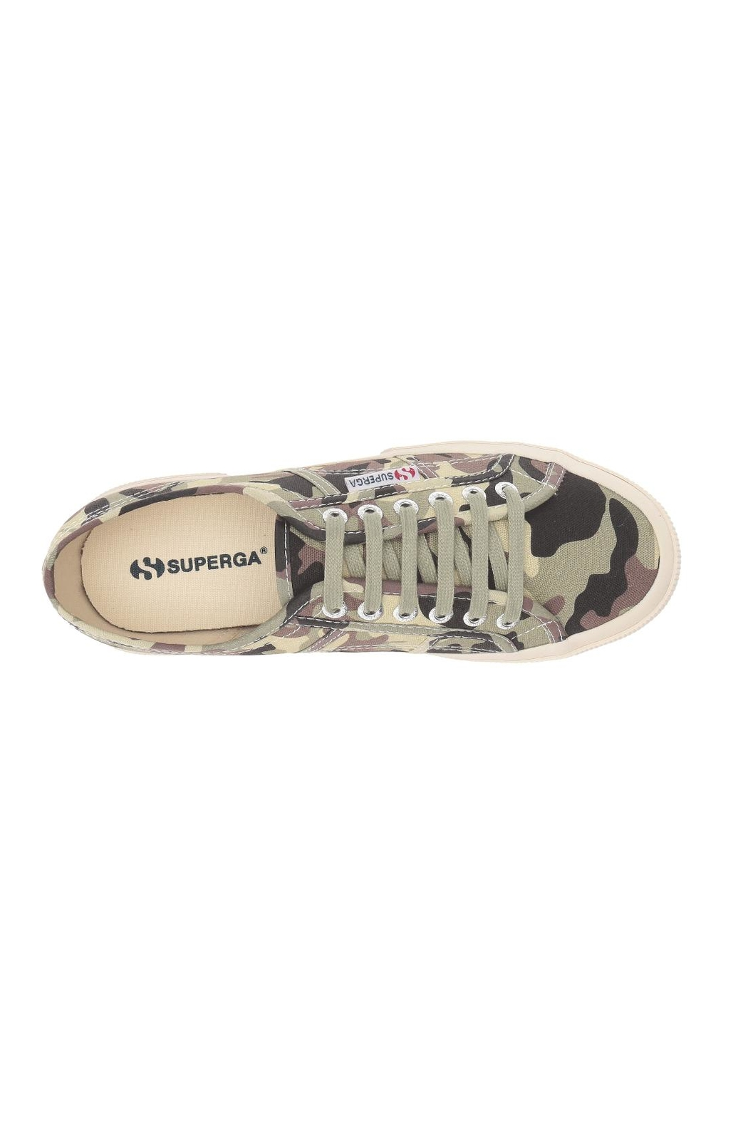 Superga Camouflage Sneakers - Back Cropped Image