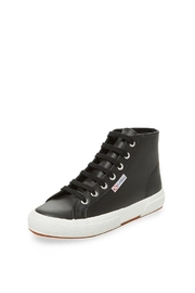 Superga Leather High Top - Front cropped