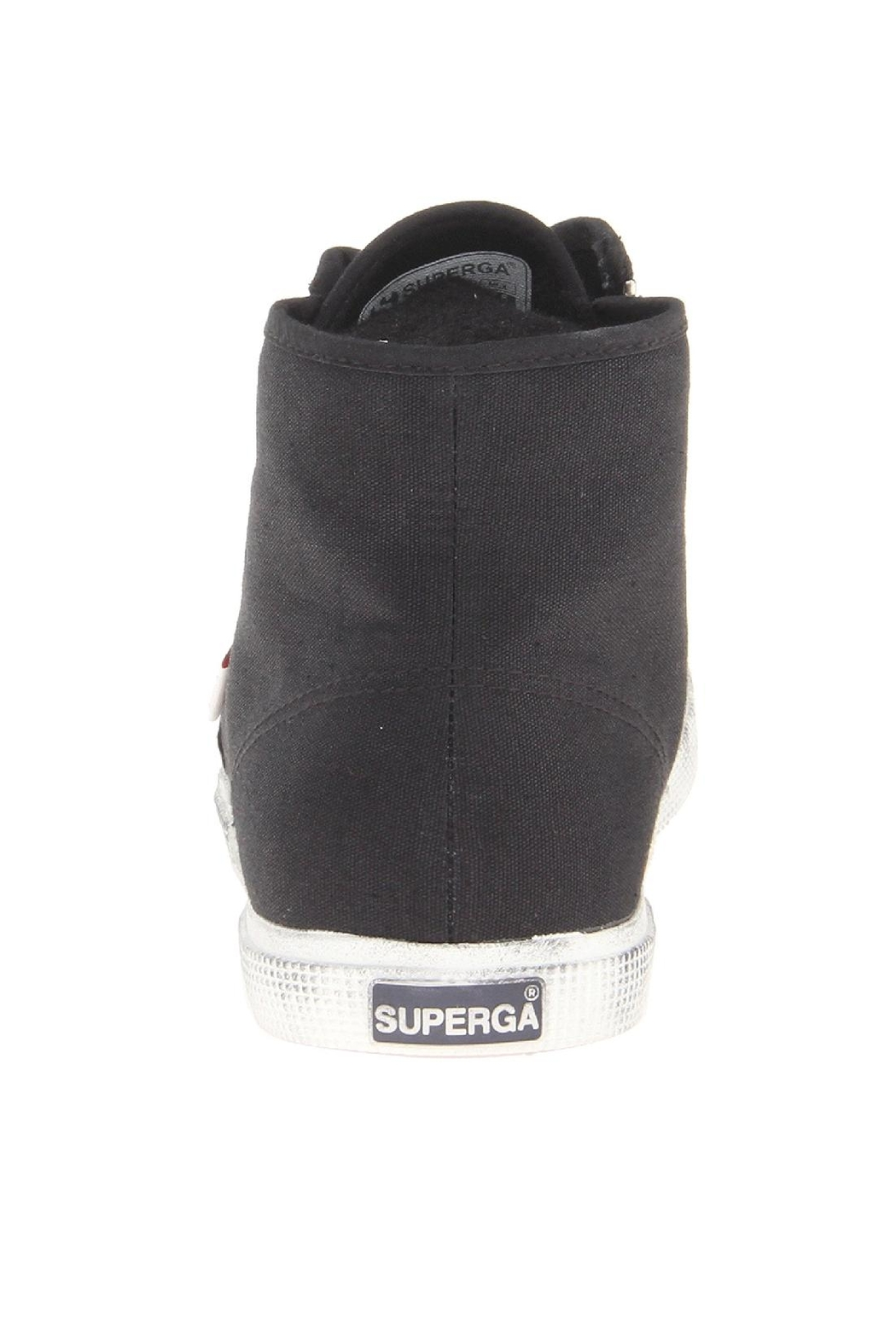 Superga Zip High Top Sneakers - Side Cropped Image