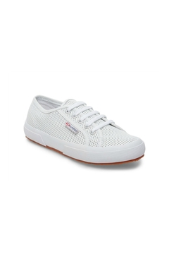 Superga Women's 2750 White Perforated Sneaker - Product List Image