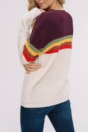 Listicle Supergraphics Sweater - Side cropped