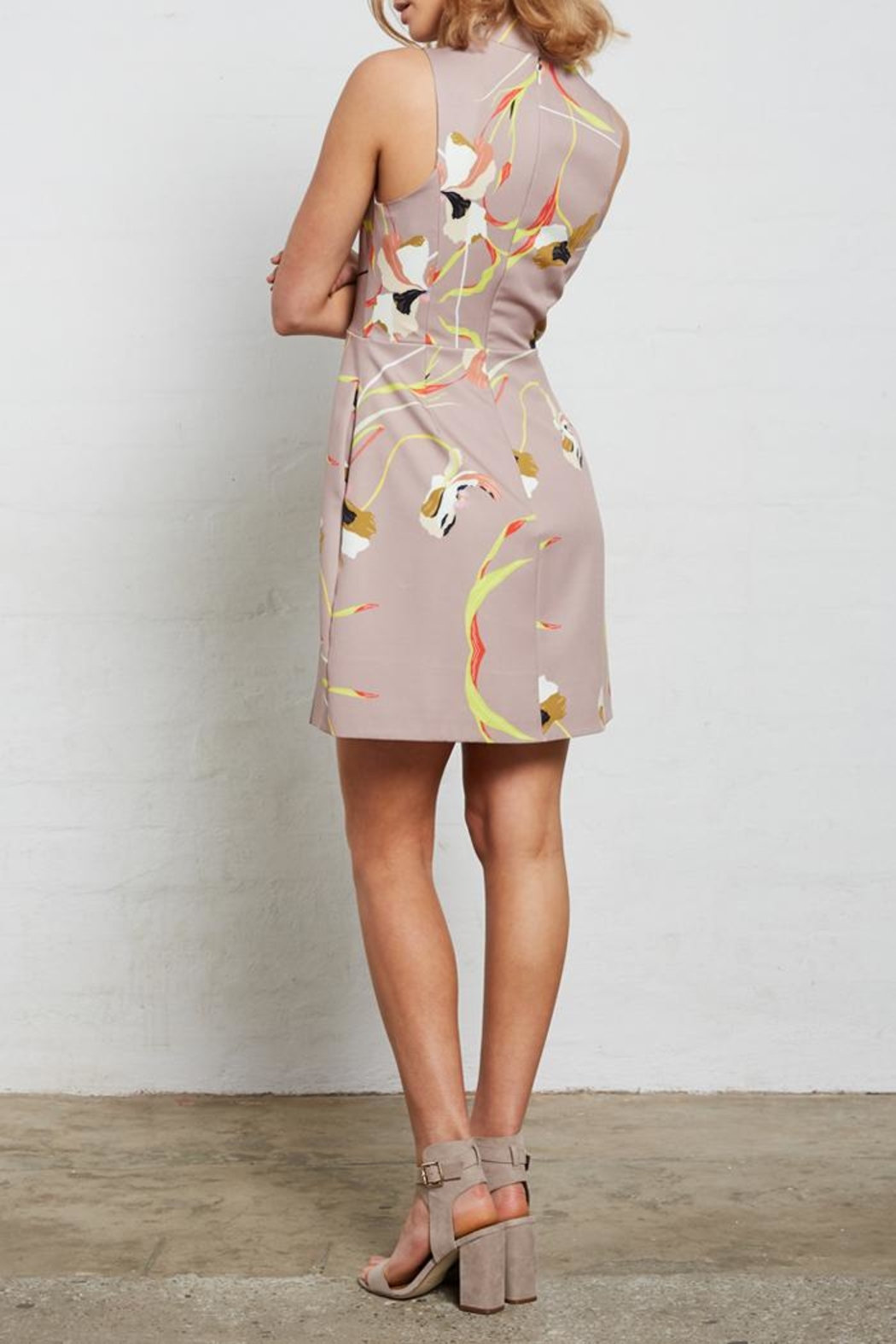 SHILLA THE LABEL Superior Print Dress - Side Cropped Image