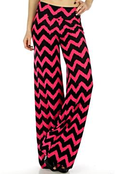 Shoptiques Product: Chevron Palazzo Pants