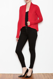 Superline Draped Open Cardigan - Front full body