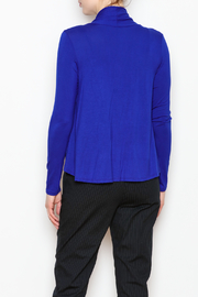 Superline Draped Open Cardigan - Back cropped