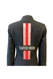 HIPCHIK  Supermom Striped Blazer - Product Mini Image