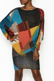 Superstar Color Block Knit Dress - Product Mini Image