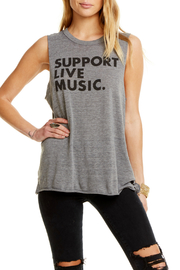 Chaser Support Live Music Muscle Tank - Product Mini Image