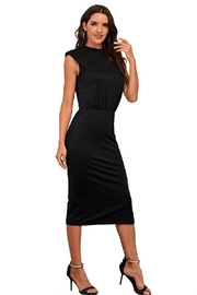supreme fashion Black Night Out Dress - Front full body