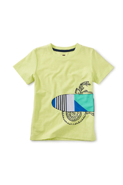 Tea Collection  Surf Cycle Graphic Tee - Front cropped