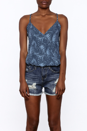 Surf Gypsy Palm Tree Tank Top - Side cropped