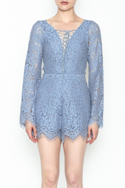 Surf Gypsy Romatic Lace Romper - Front full body