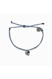 Pura Vida SURF LOVE BRACELET-SILVER/BLUE - Product Mini Image