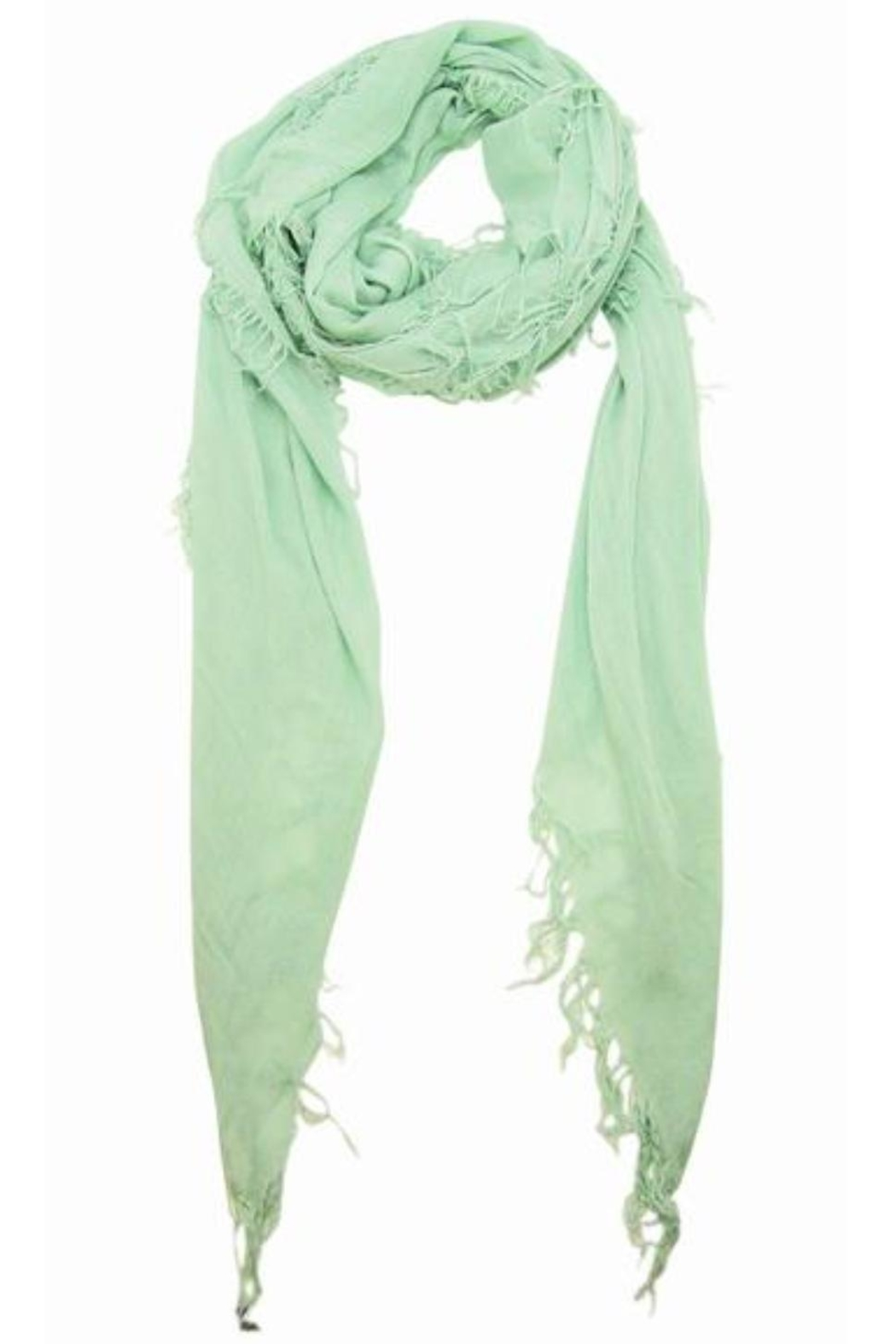 Blue Pacific Surf Spray Scarf - Front Full Image