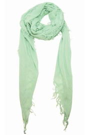 Blue Pacific Surf Spray Scarf - Front full body