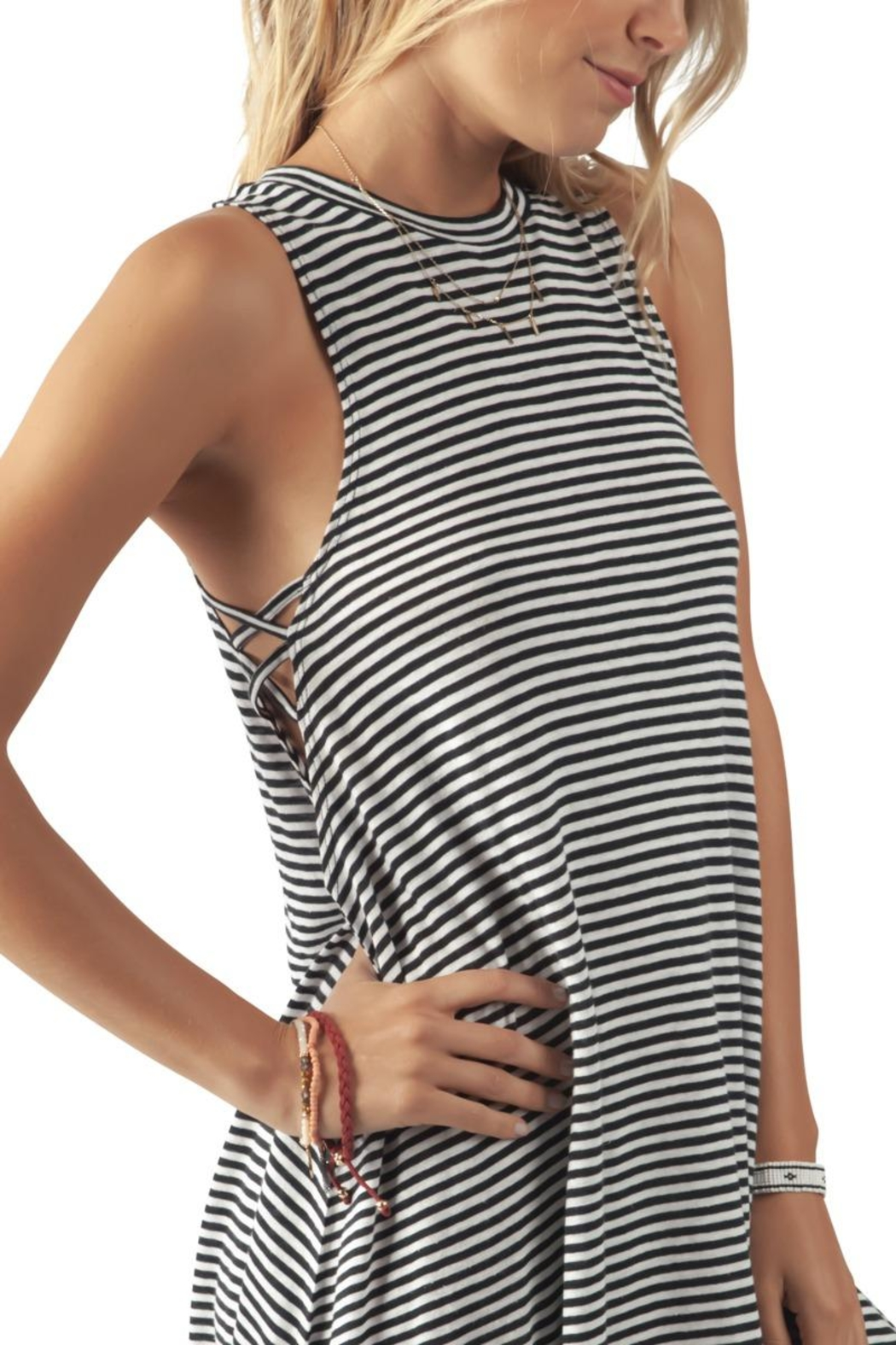 Rip Curl Surf Tank Dress - Side Cropped Image