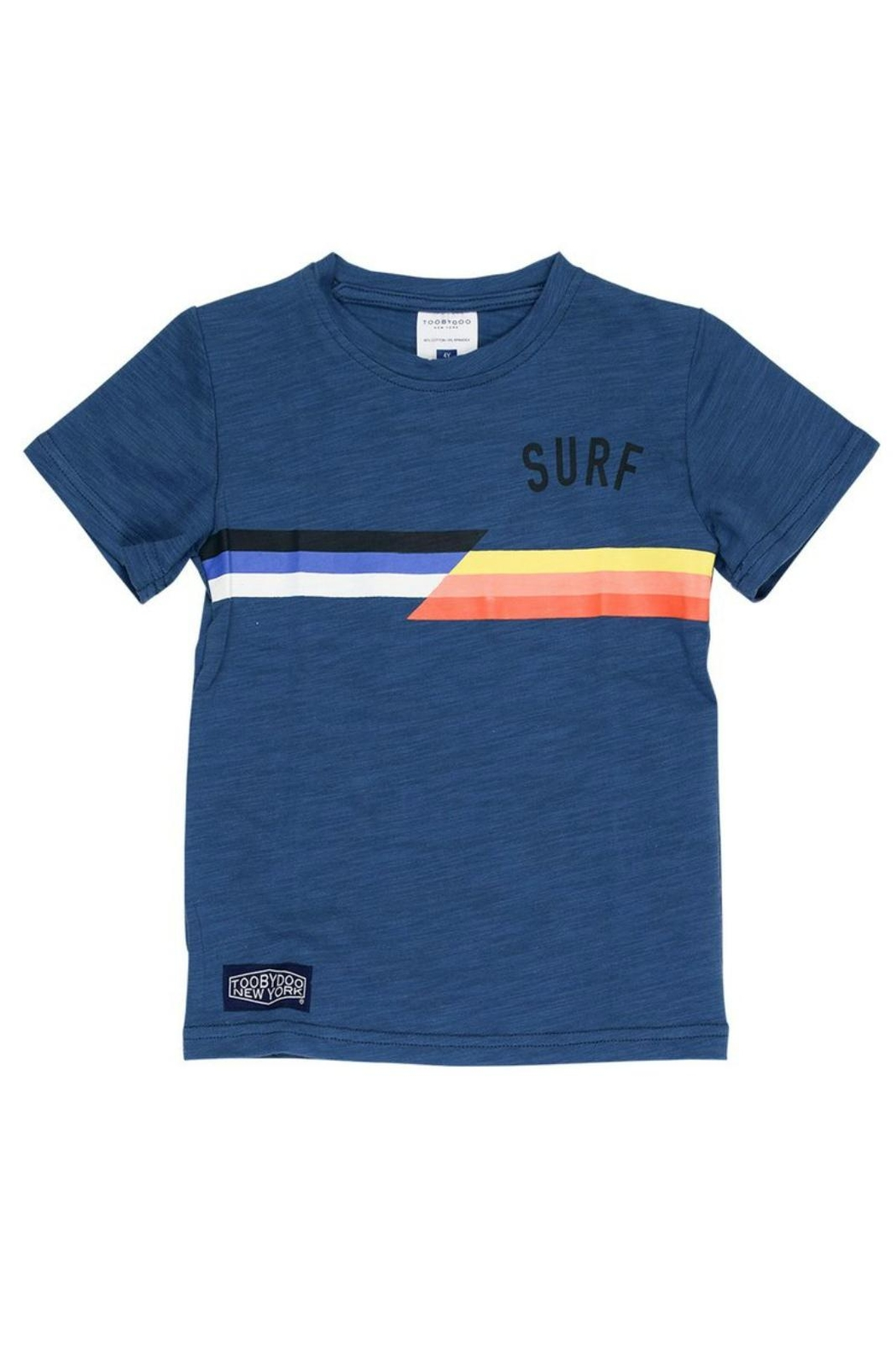Toobydoo Surf Tee - Front Cropped Image