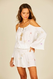Surf Gypsy Star Print Dress - Front cropped
