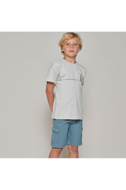 Wheat Surfboards T Shirt - Front full body