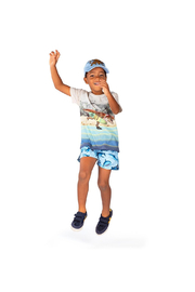 Paper Wings Surfs Up Classic T Shirt - Front full body