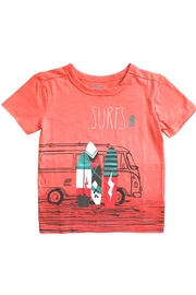 Hatley Surfs Up Tee - Front cropped