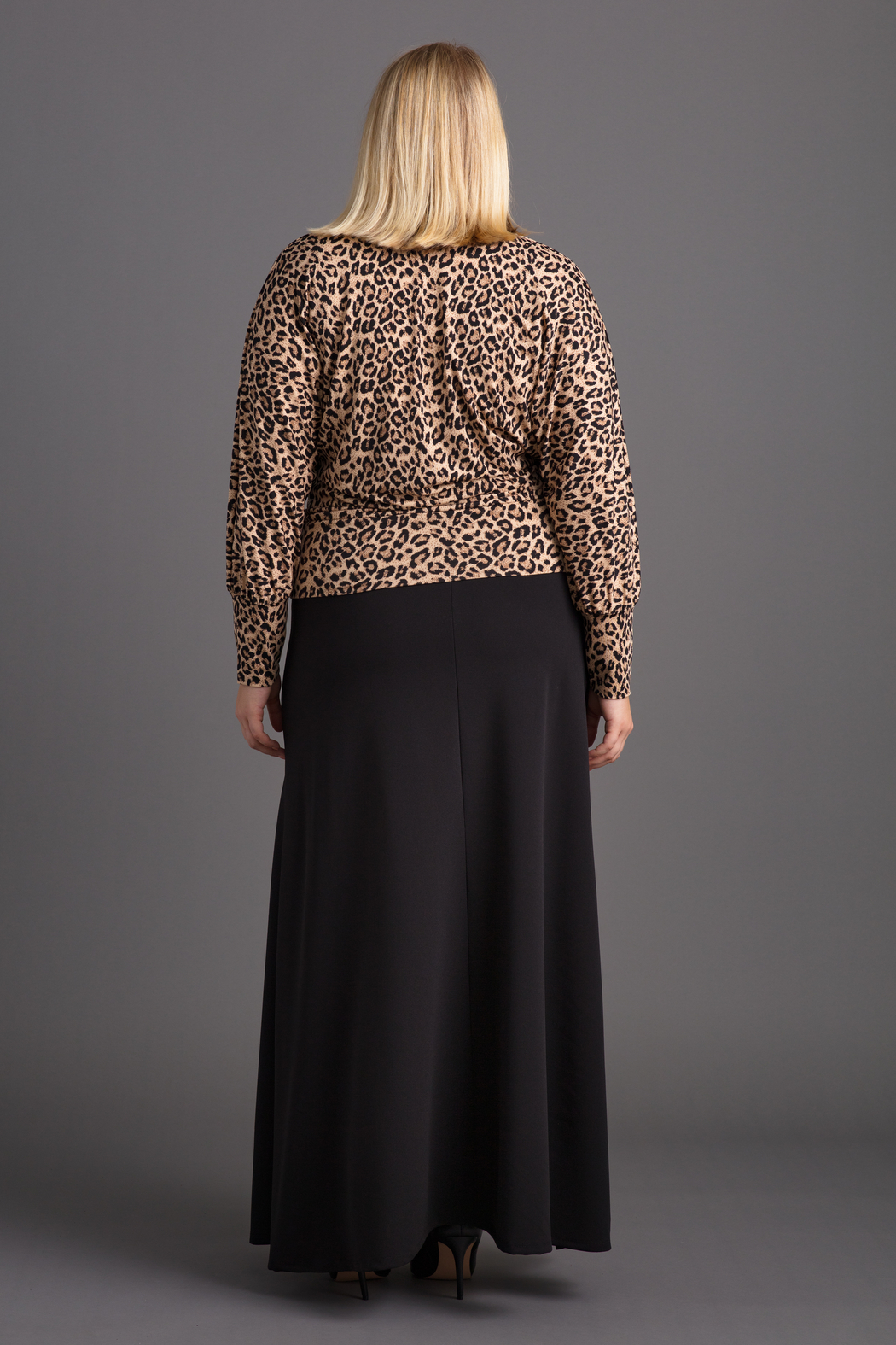 VKY & CO Surplice Bishop Sleeves Top - Side Cropped Image