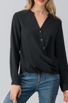 Trend:notes Surplice Cuff Blouse - Product List Image