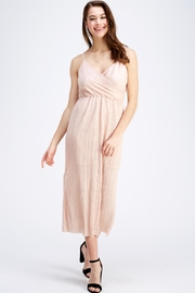 Lush Surplice Midi Dress - Product Mini Image