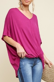 Umgee USA Surplice Tee - Front cropped