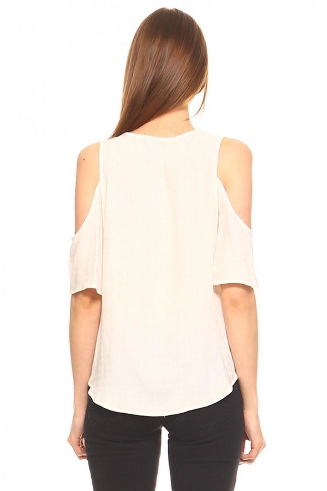 TCEC Surplice V-Neck Top - Side Cropped Image