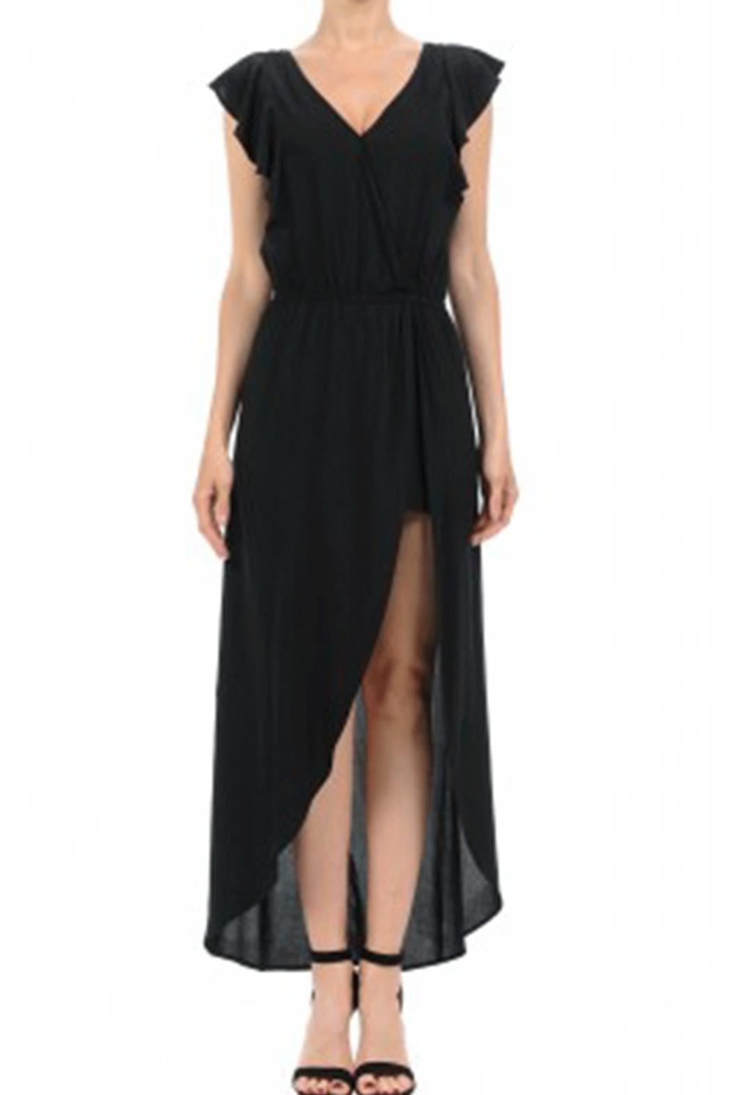Ambiance Surplus Maxi Romper - Front Cropped Image