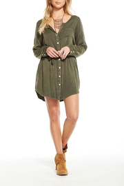Chaser Surplus Shirt Dress - Product Mini Image