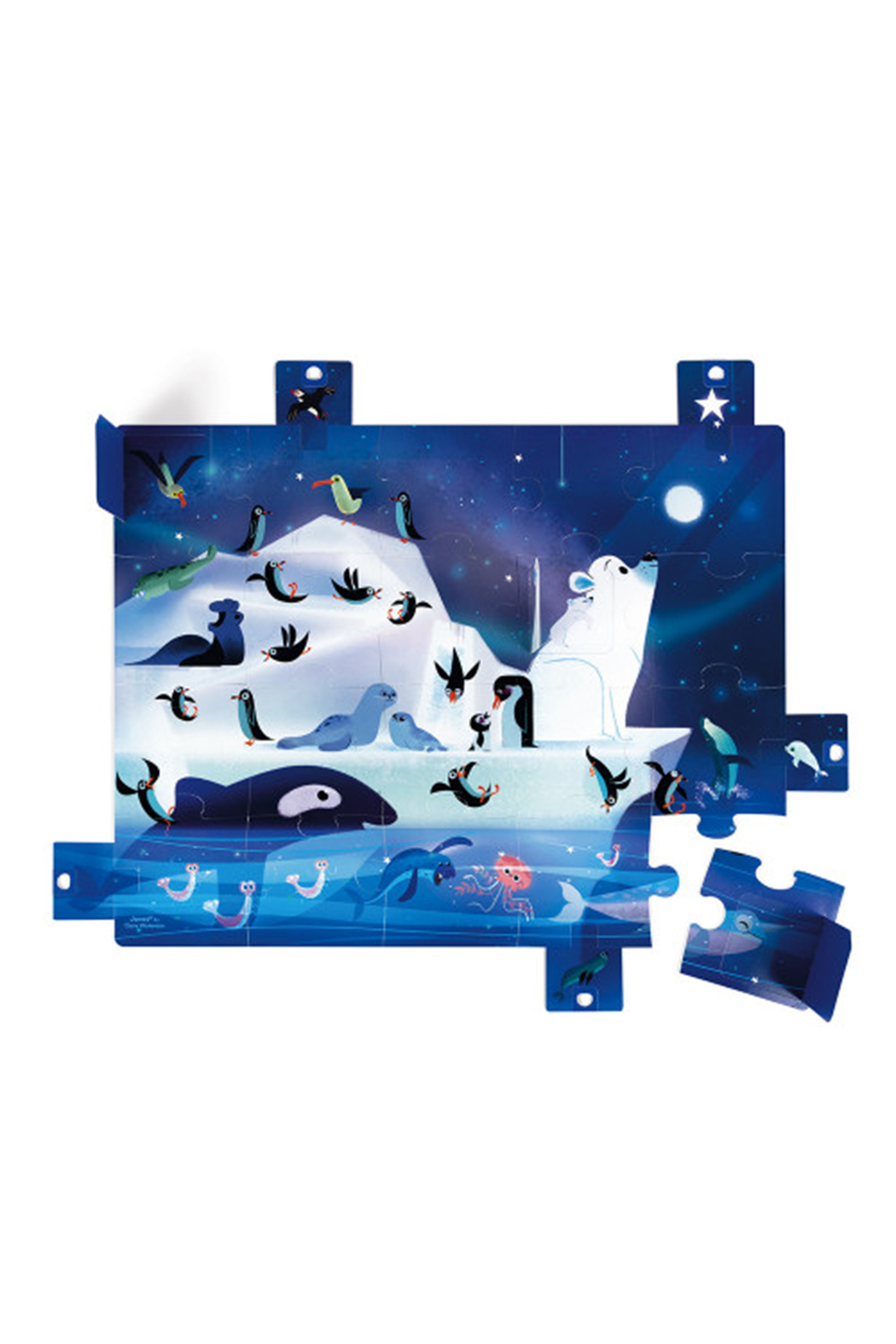 Janod Surprise Puzzle Under The Stars - Front Full Image