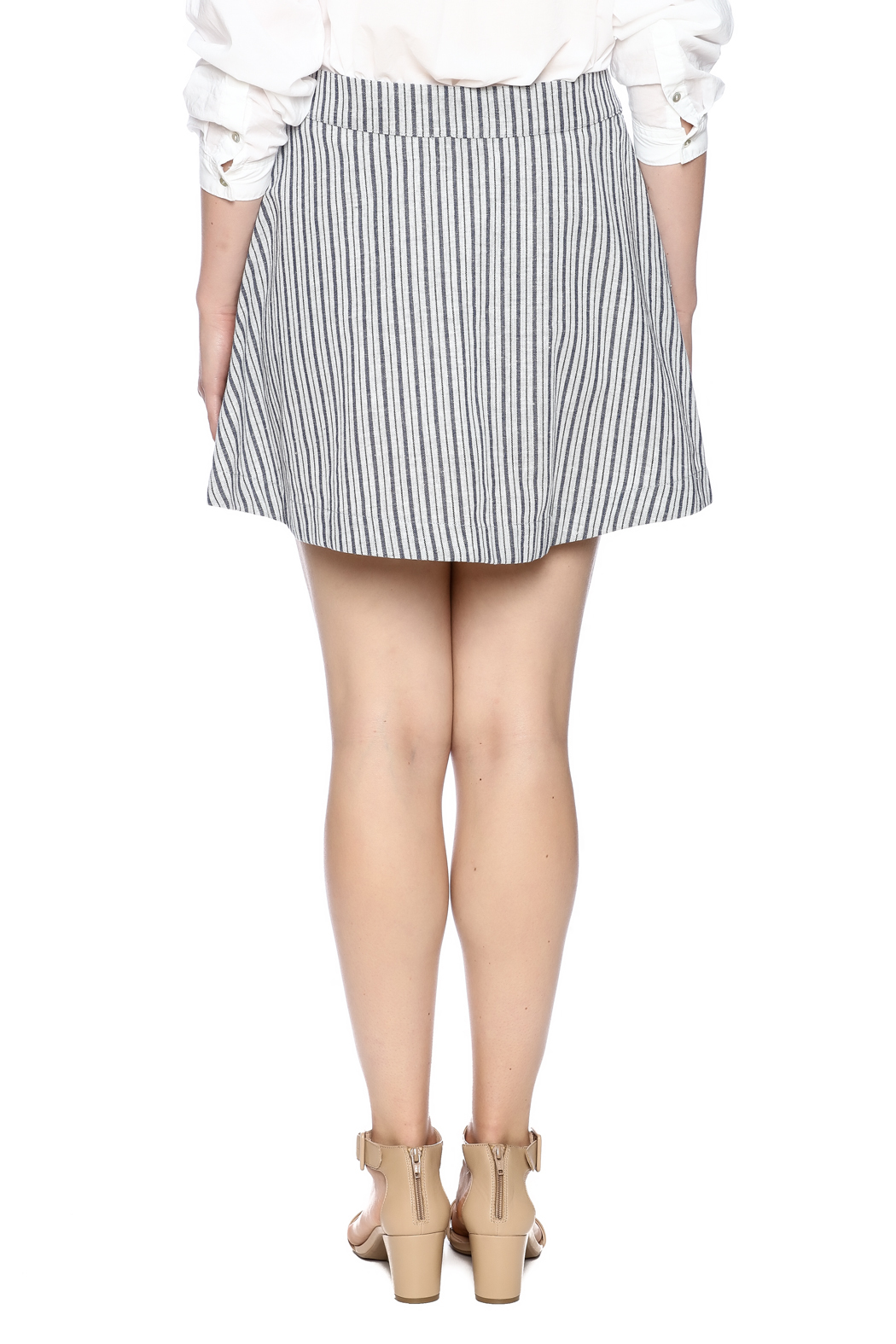 Surreal by Papercrane Striped Denim Skirt from New York by Gado ...