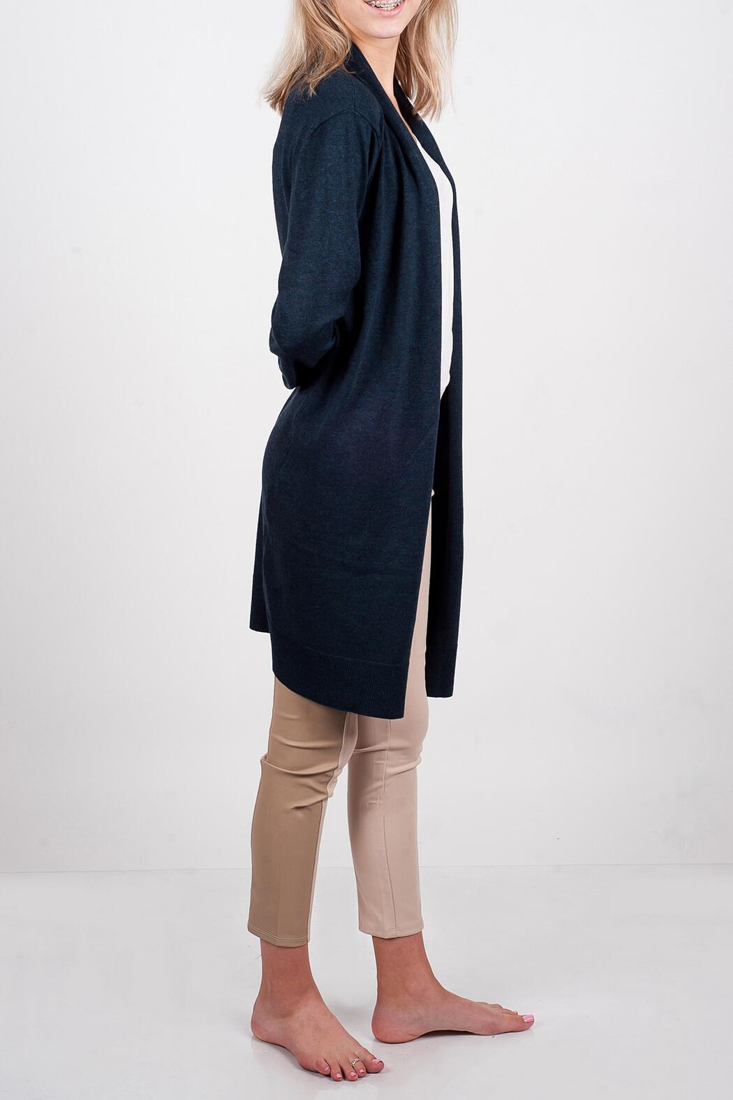 Survival Duster Sweater - Side Cropped Image