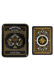 Wild & Wolf Survival Playing Cards Tin - Product Mini Image