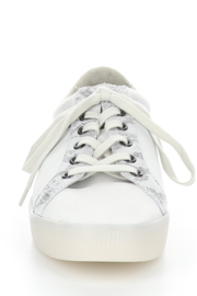 Bos & Co. Sury Snakeskin-Trim Sneaker - Product Mini Image