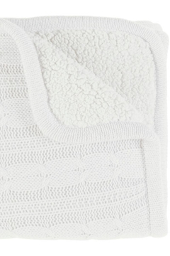 Surya Cable Knit Fleece Throw - Product List Image