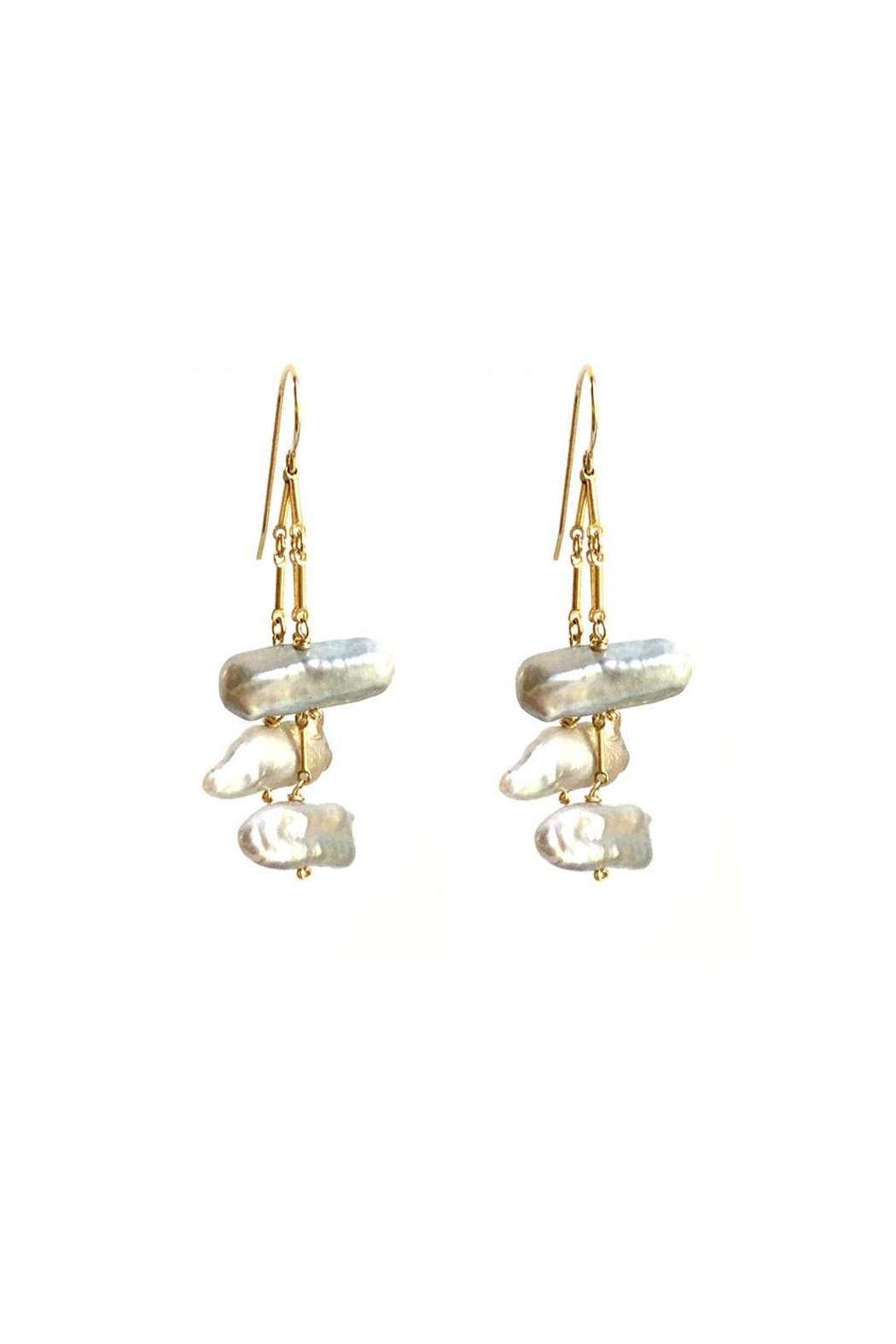 Susan Goodwin Jewelry Baroque Pearl Earrings - Main Image