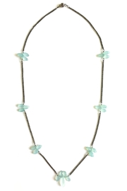 Susan Goodwin Jewelry Chalcedony Necklace - Front cropped