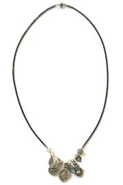 Susan Goodwin Jewelry Charm Necklace - Front cropped