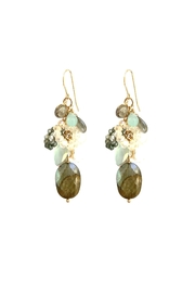 Susan Goodwin Jewelry Gemstone Cluster Earrings - Product Mini Image