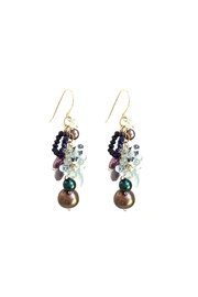 Susan Goodwin Jewelry Gemstone And Pearl Earrings - Product Mini Image