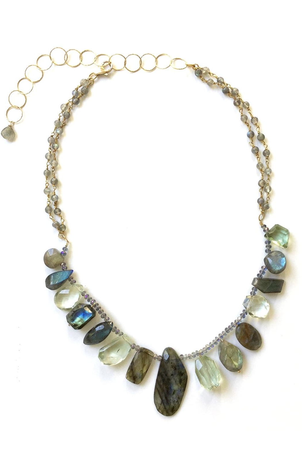 Susan Goodwin Jewelry Labradorite & Amethyst Necklace - Main Image