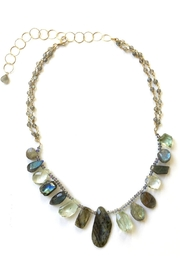 Susan Goodwin Jewelry Labradorite & Amethyst Necklace - Product Mini Image