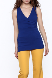 Susana Monaco Blue Blithe Tank Top - Product Mini Image