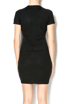 Susana Monaco Front Tie Mini Dress - Alternate List Image