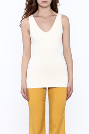 Susana Monaco Hanne Sleeveless Tank Top - Side cropped