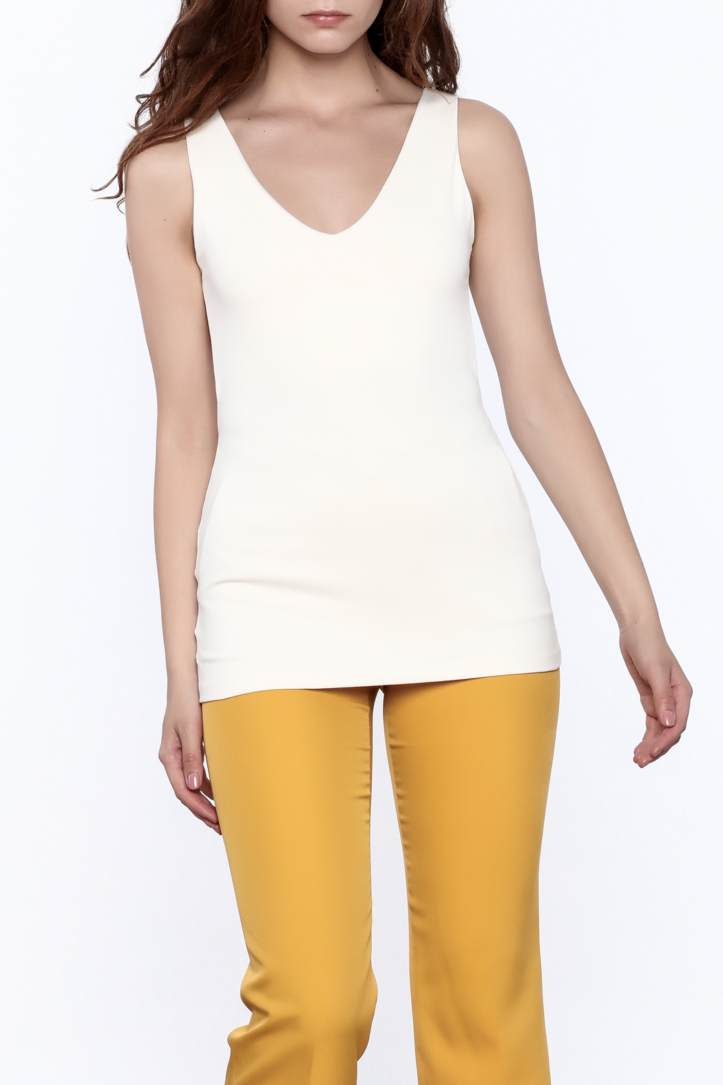 Susana Monaco Hanne Sleeveless Tank Top - Main Image