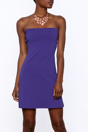 Susana Monaco Purple Strapless Dress - Product Mini Image